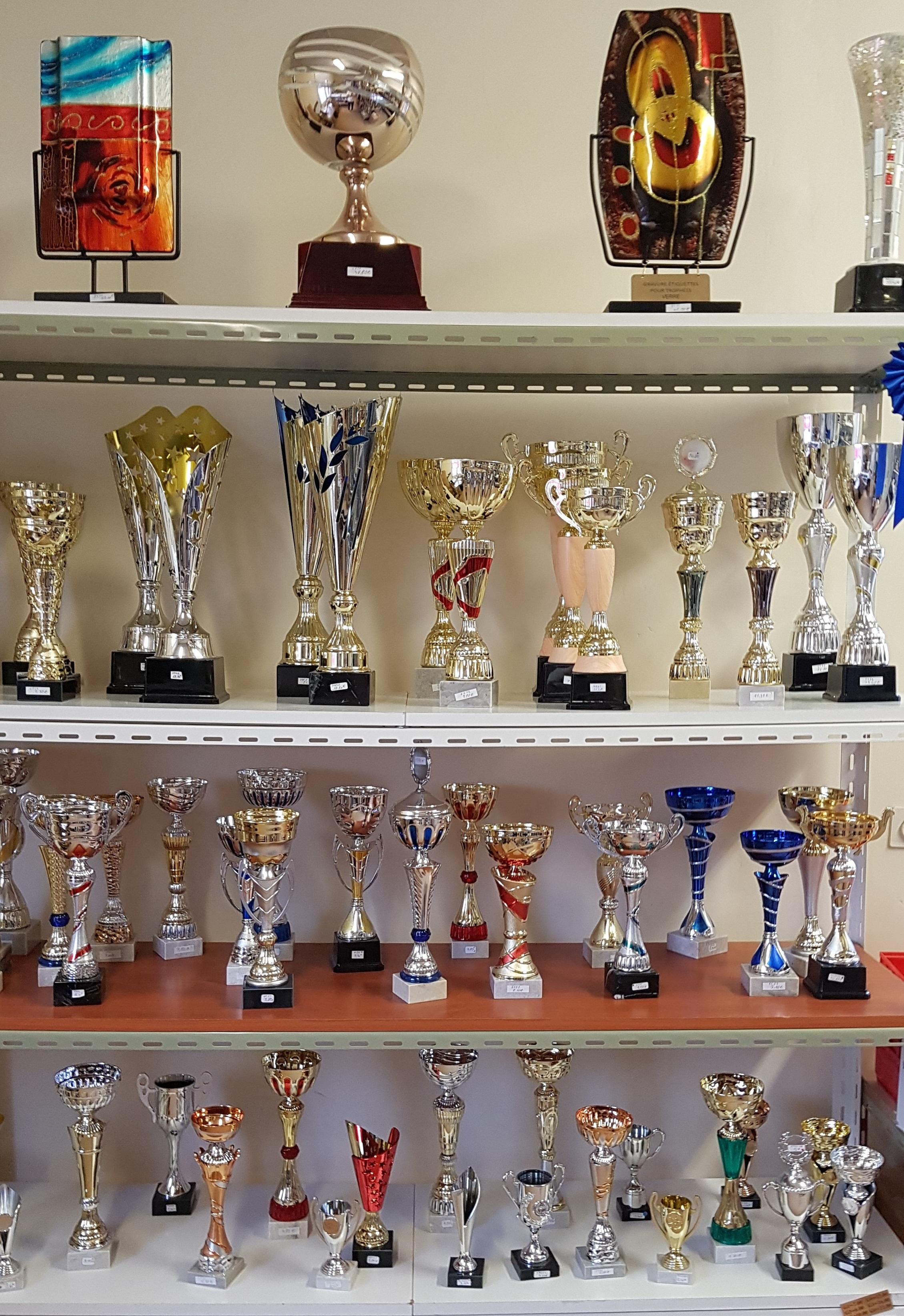 Coupes, trophées personnalisés www.emap.fr